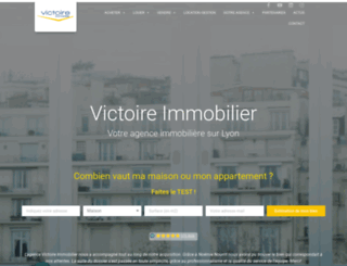 victoire-immo.fr screenshot