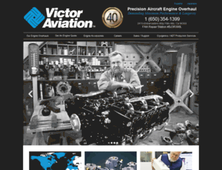 victor-aviation.com screenshot