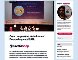 victor-rodenas.com screenshot