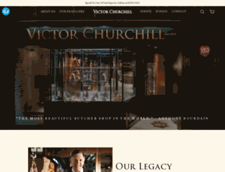 victorchurchill.com screenshot