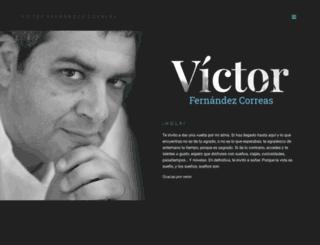 victorfernandezcorreas.com screenshot