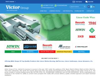 victorgroup.in screenshot