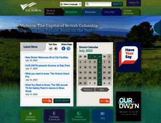 victoria.ca screenshot