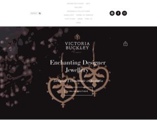 victoriabuckley.com screenshot