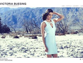 victoriabuesing.com screenshot
