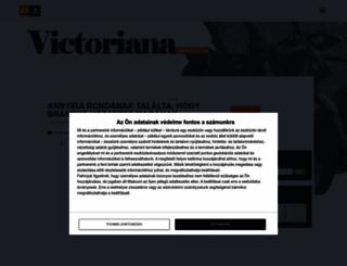 victoriana.postr.hu screenshot