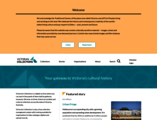 victoriancollections.net.au screenshot