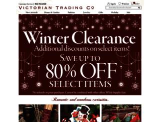 victoriantradingco.com screenshot