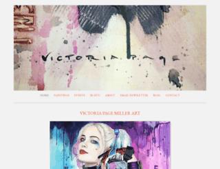 victoriapagemiller.com screenshot