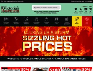 victoriasbasement.com.au screenshot