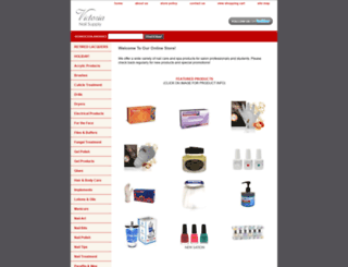 victoriasnailsupply.com screenshot