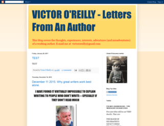 victororeilly.blogspot.com screenshot
