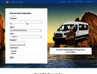 victorscabotransportation.com screenshot