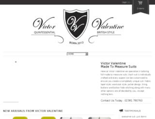 victorvalentine.co.uk screenshot
