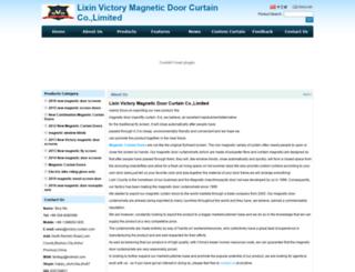 victory-curtain.com screenshot