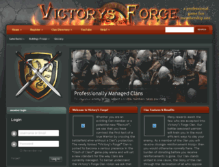 victorysforge.com screenshot