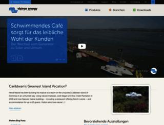 victronenergy.de screenshot