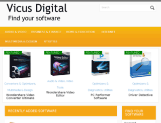 vicusdigital.com screenshot