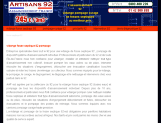 vidange-fosse-septique-92.zenclic.net screenshot