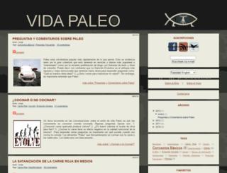 vidapaleo.com screenshot