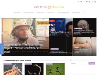 vidaplenaebemestar.com.br screenshot