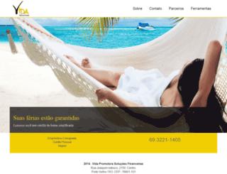 vidapromotora.com.br screenshot