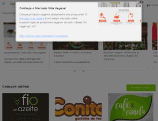 vidavegana.com.br screenshot