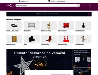 vidaxl.cz screenshot