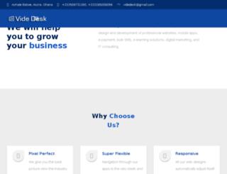 videdesk.com screenshot