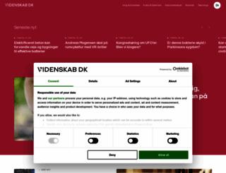 videnskab.dk screenshot