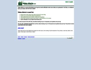 video-alerts.com screenshot