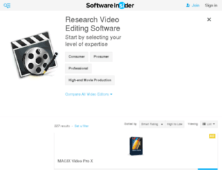 video-editing.findthebest-sw.com screenshot