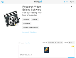 video-editing.findthebest.com screenshot