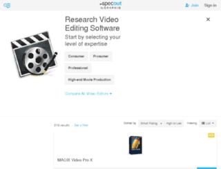 video-editing.softwareinsider.com screenshot