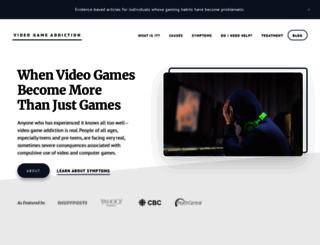 video-game-addiction.org screenshot