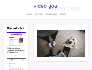 video-goal.com screenshot