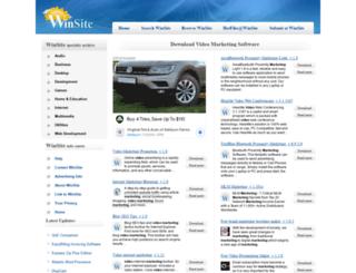 video-marketing.winsite.com screenshot