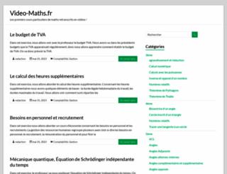 video-maths.fr screenshot