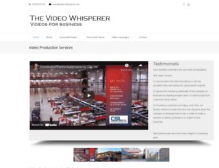 video-whisperer.com screenshot