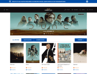 video.cineplex.com screenshot