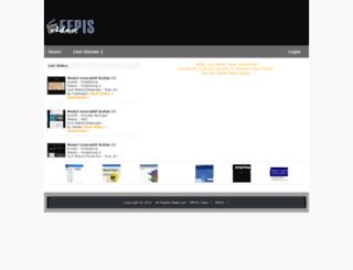 video.eepis-its.edu screenshot