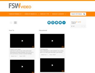 video.foodservicewarehouse.com screenshot