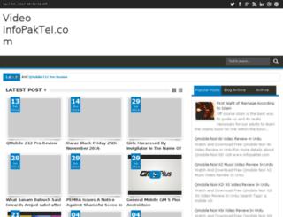 video.infopaktel.com screenshot