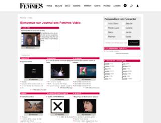 video.journaldesfemmes.com screenshot