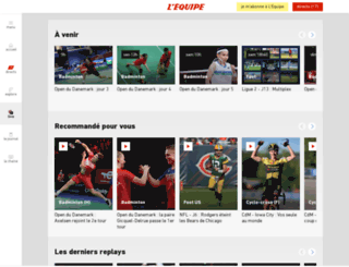 video.lequipe.fr screenshot