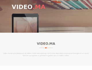 video.ma screenshot