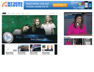 video.mynewsminute.com screenshot