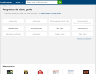 video.portalprogramas.com screenshot