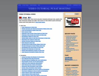 video.pusathosting.com screenshot