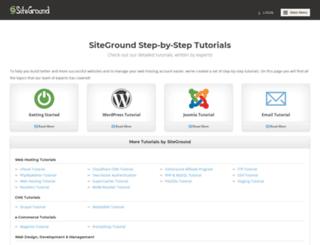 video.siteground.com screenshot